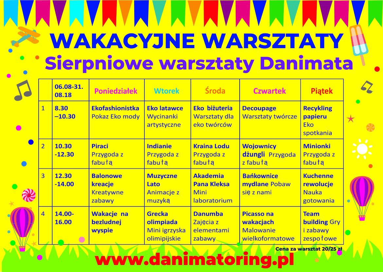 Letnie Warsztaty Danimatoring - Danimatoring.pl zdjęcie nr 1