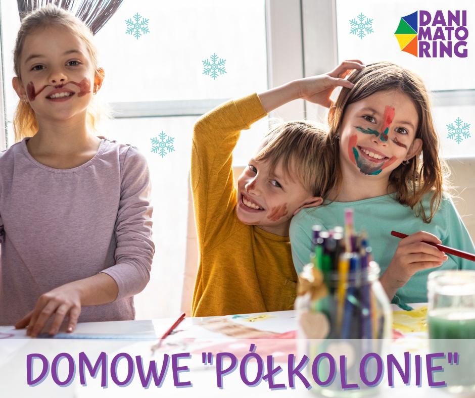 """Ferie Zimowe 2021 - Domowe """"półkolonie"""" Z Animatorem - Danimatoring.pl zdjęcie nr 1"""