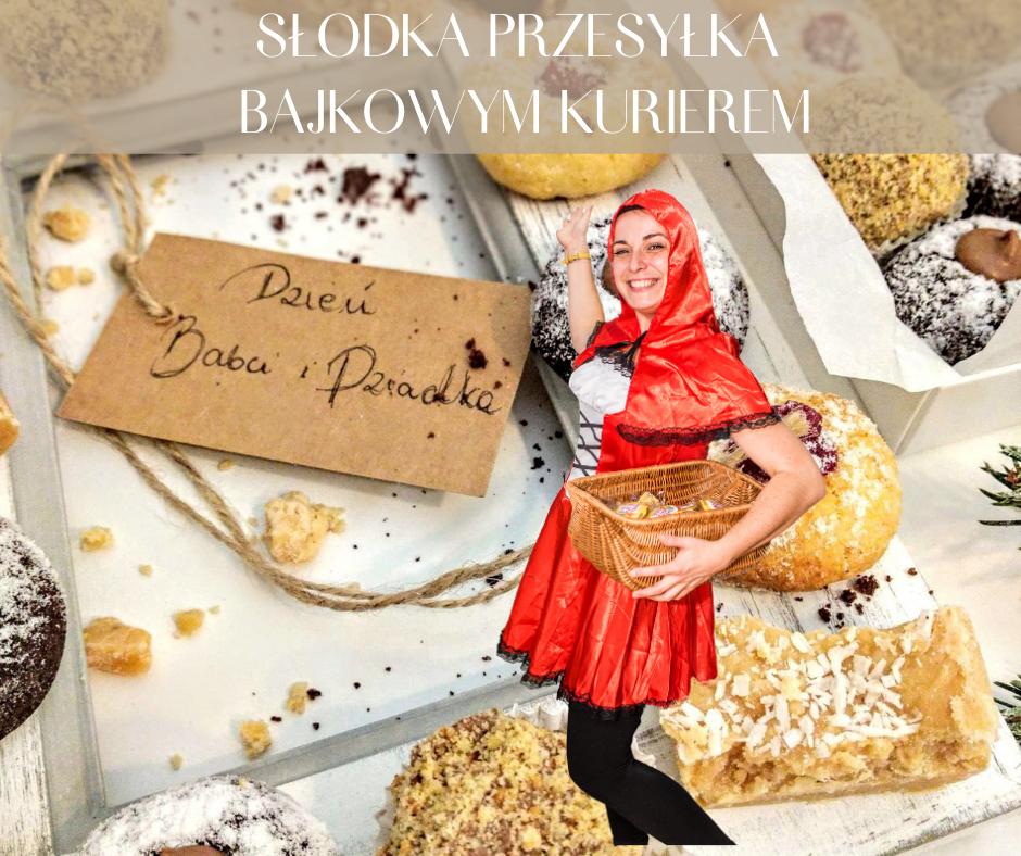 Słodka Przesyłka Bajkowym Kurierem Na Dzień Babci I Dziadka - Danimatoring.pl zdjęcie nr 1