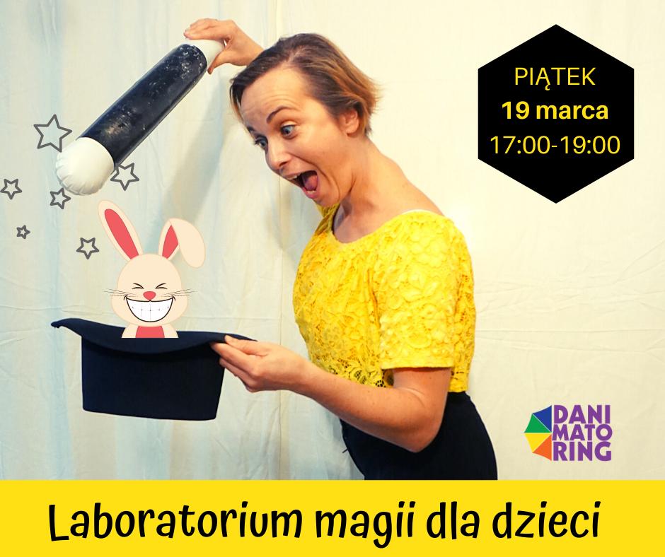Laboratorium Magii Dla Dzieci - Warsztaty Z Iluzjonistką Danisławą - Danimatoring.pl zdjęcie nr 1