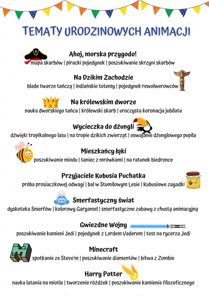 Urodziny Dla Dzieci Poznań - Imprezy Z Animatorem W Poznaniu I Okolicy zdjęcie nr 7