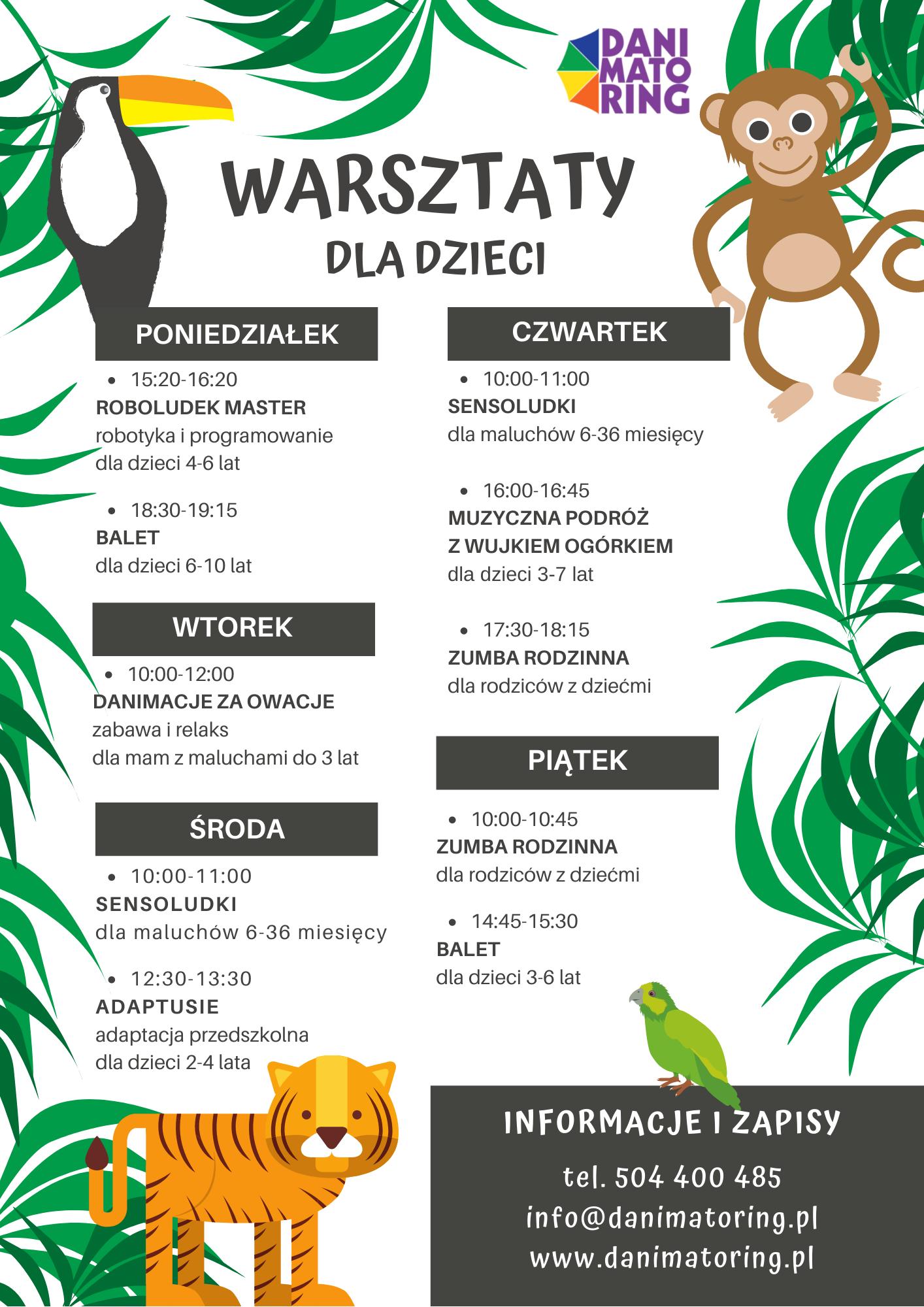 Zajęcia, Warsztaty Dla Dzieci - Poznań zdjęcie nr 2